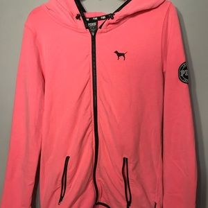 PINK full zip jacket
